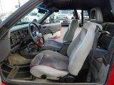 1986 Ford Mustang GT Convertible Grey Interior