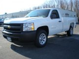 2011 Summit White Chevrolet Silverado 1500 Regular Cab #40879283