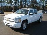 2011 Summit White Chevrolet Silverado 1500 LT Crew Cab 4x4 #40879892