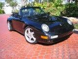 1995 Black Porsche 911 Carrera Cabriolet #40879601