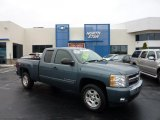 2008 Blue Granite Metallic Chevrolet Silverado 1500 LT Extended Cab 4x4 #40879320