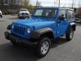 2011 Cosmos Blue Jeep Wrangler Sport 4x4 #40879960