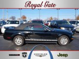 2006 Black Ford Mustang V6 Premium Convertible #40879055