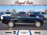 2006 Black Ford Mustang V6 Premium Convertible #40879055