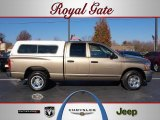 2006 Light Khaki Metallic Dodge Ram 1500 ST Quad Cab #40879056