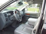 2007 Dodge Ram 1500 Laramie Mega Cab 4x4 Medium Slate Gray Interior