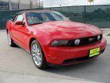 2011 Ford Mustang Race Red