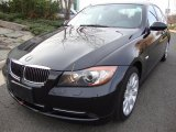 2007 Jet Black BMW 3 Series 335xi Sedan #40879750