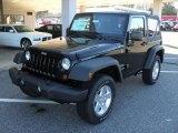 2011 Black Jeep Wrangler Sport S 4x4 #40879839