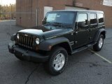 2011 Jeep Wrangler Unlimited Natural Green Pearl