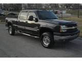 2003 Dark Gray Metallic Chevrolet Silverado 2500HD LS Crew Cab 4x4 #40962308