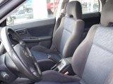 2002 Subaru Impreza WRX Wagon Black Interior