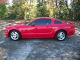 2005 Torch Red Ford Mustang GT Deluxe Coupe #40962108