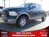 2011 Hunter Green Pearl Dodge Ram 1500 SLT Outdoorsman Crew Cab 4x4 #40961905