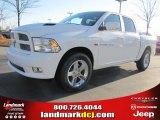 2011 Bright White Dodge Ram 1500 Laramie Crew Cab #40961906