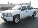 2011 Summit White Chevrolet Silverado 1500 LT Crew Cab 4x4 #40962135