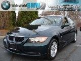 2008 Deep Green Metallic BMW 3 Series 328xi Sedan #40961740