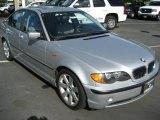 2003 Titanium Silver Metallic BMW 3 Series 325i Sedan #4098589