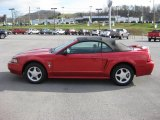 2000 Laser Red Metallic Ford Mustang GT Convertible #40961780