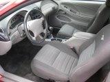 2000 Ford Mustang GT Convertible Medium Graphite Interior