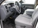 2007 Dodge Ram 3500 ST Quad Cab 4x4 Dually Medium Slate Gray Interior