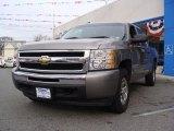 2009 Graystone Metallic Chevrolet Silverado 1500 LT Crew Cab 4x4 #40962467