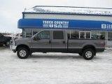 2004 Dark Shadow Grey Metallic Ford F250 Super Duty Lariat Crew Cab 4x4 #40962236