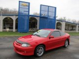 2003 Victory Red Chevrolet Cavalier LS Sport Coupe #40961835
