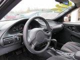 2003 Chevrolet Cavalier LS Sport Coupe Graphite Gray Interior
