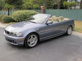 2004 Steel Blue Metallic BMW 3 Series 330i Convertible #41022904