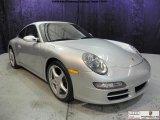 2007 Arctic Silver Metallic Porsche 911 Carrera Coupe #41023030