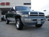 1998 Emerald Green Pearl Dodge Ram 1500 Laramie SLT Extended Cab 4x4 #41023188