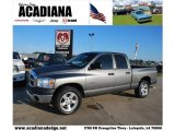 2008 Mineral Gray Metallic Dodge Ram 1500 SXT Quad Cab #41022979