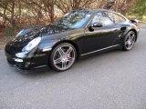 2007 Black Porsche 911 Turbo Coupe #41022855