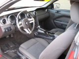 2006 Ford Mustang V6 Deluxe Convertible Dark Charcoal Interior