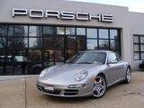 2008 GT Silver Metallic Porsche 911 Carrera 4S Coupe #41023335
