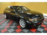 2003 Black Sapphire Metallic BMW 7 Series 745i Sedan #41023143