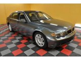 2003 Titanium Grey Metallic BMW 7 Series 745Li Sedan #41023145