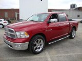 2010 Dodge Ram 1500 Inferno Red Crystal Pearl