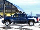 2008 Dark Blue Metallic Chevrolet Silverado 1500 LT Crew Cab 4x4 #41068477