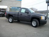 2011 Taupe Gray Metallic Chevrolet Silverado 1500 Regular Cab 4x4 #41068082