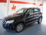 2011 Deep Black Metallic Volkswagen Tiguan SE #41067972