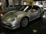2011 Porsche 911 Platinum Silver Metallic