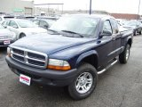 2004 Patriot Blue Pearl Dodge Dakota SXT Club Cab 4x4 #41068027