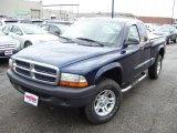 2004 Patriot Blue Pearl Dodge Dakota SXT Club Cab 4x4 #41068027
