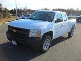 2011 Summit White Chevrolet Silverado 1500 Extended Cab #41068619