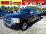 2009 Imperial Blue Metallic Chevrolet Silverado 1500 LT Extended Cab #41068635