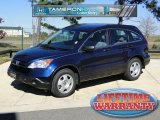 2008 Royal Blue Pearl Honda CR-V LX #41068647