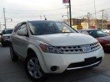 2007 Glacier Pearl White Nissan Murano S AWD #41068660
