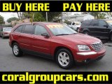 2004 Inferno Red Pearl Chrysler Pacifica  #41068666
